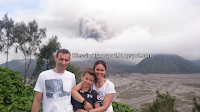 Peter and family (NL), transport from Surabaya to Mount Bromo. July 11th to 12th, 2016.