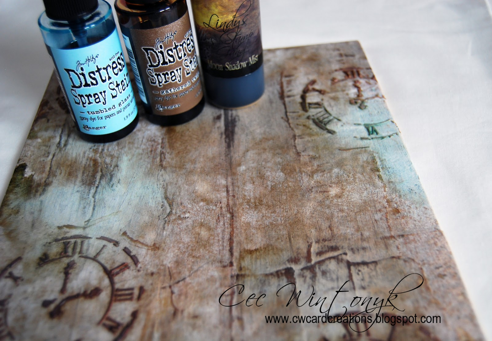 Stamps and Stencils : I Heart Steampunk
