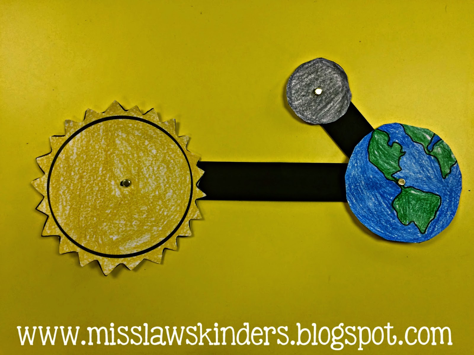 Miss Law S Kinders Space Unit Earth S Rotation Amp Moon