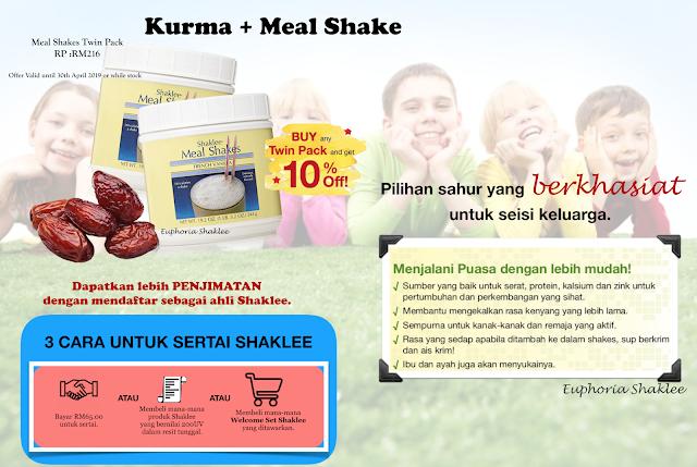 Kurma Meal shake