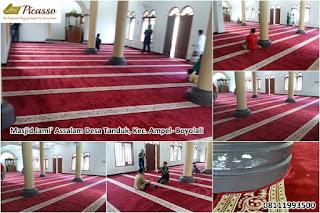 Karpet Masjid Minimalis, Sajadah Masjid Turki, Sajadah Masjid Import