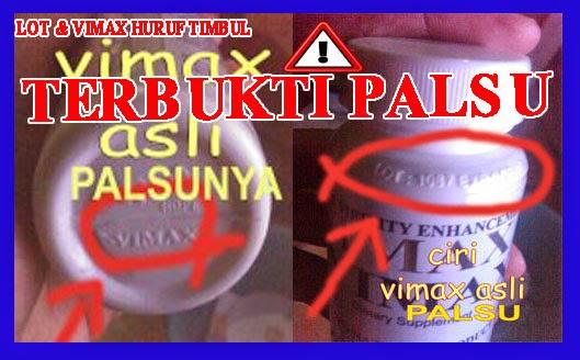 Vimax Asli Bukan Vimax Timbul