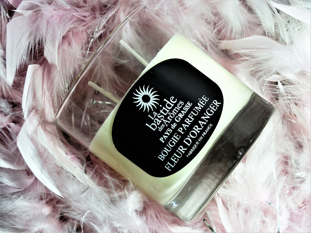Avis Fleur d'Oranger de La Bastide des Arômes, blog bougie, blog beauté, blog parfum