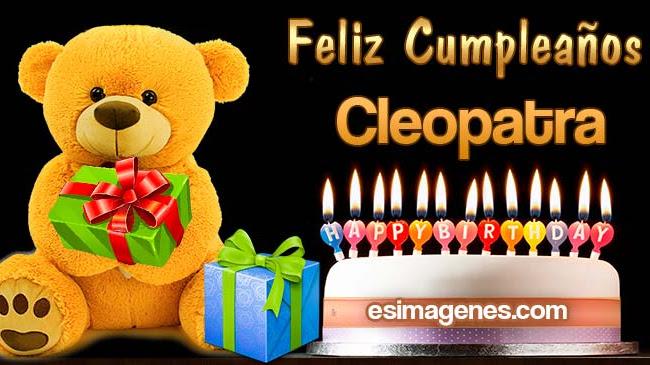 Feliz Cumpleaños Cleopatra