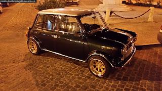 """""""Cool"""" Mini, estacionado em Castelo de Vide - Fotografias Gerais (Geral Photos) de Castelo de Vide, Portugal"""
