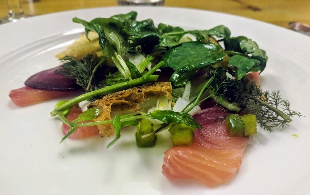 A Grown-Up Festive Weekend in Ouseburn - Artisan beetroot smoked salmon