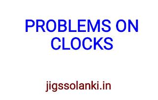 PROBLEMS ON CLOCKS SHORTCUT TRICKS HAND WRITTEN NOTE