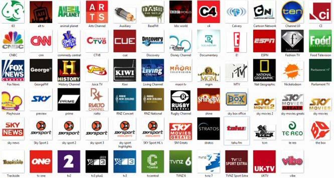Logo Channel Tv (set 01)