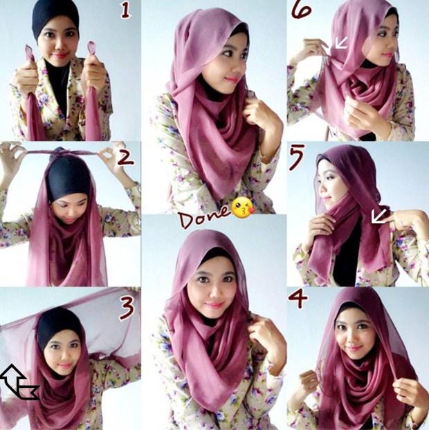 Contoh Video Hijab Modern Style Masa Kini 2016