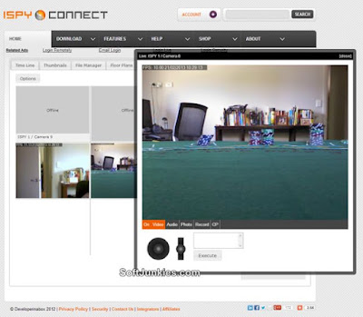 Open Source Camera Security Software Download iSpy 6.9, iSpy Software Download