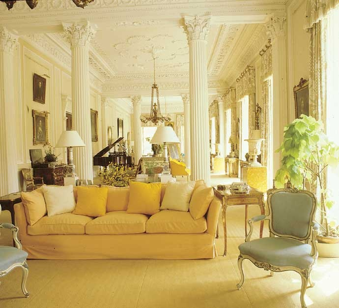 Eye For Design Grey Interiors Refined And Sophisticated: Eye For Design: How To Create Beautiful Yellow Rooms