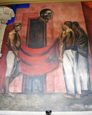 Mural la Huelga - José Clemente Orozco