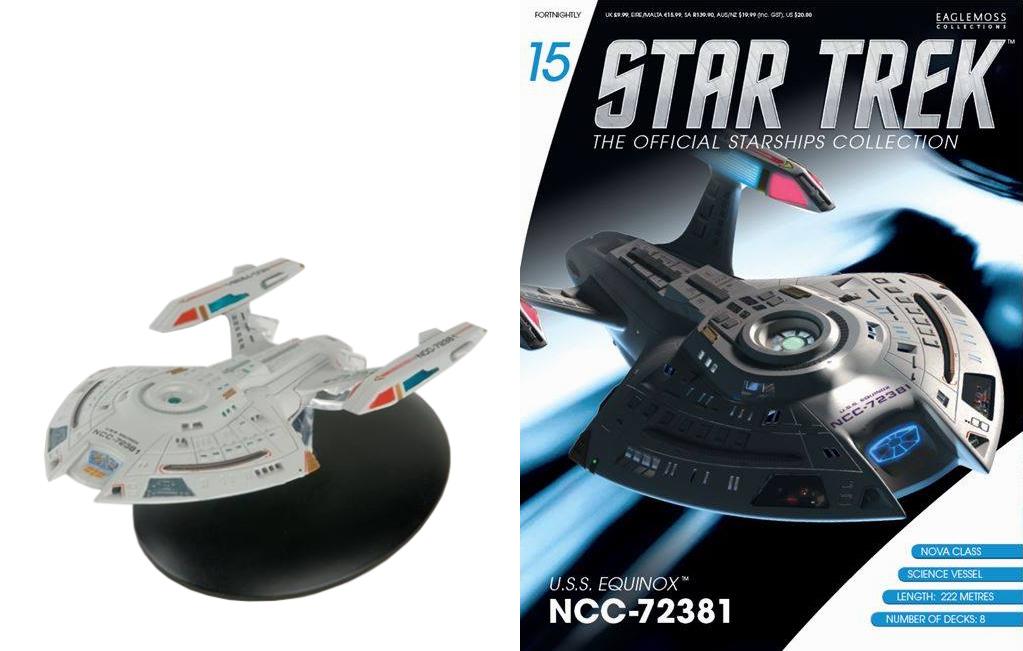 Enterprise NCC-1701-A Eaglemoss Star Trek Starships Collection #72 U.S.S