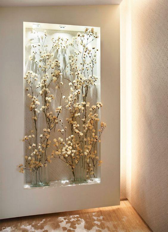 Amazing Gypsum Board Wall Shelves Designs - Dwell Of Decor
