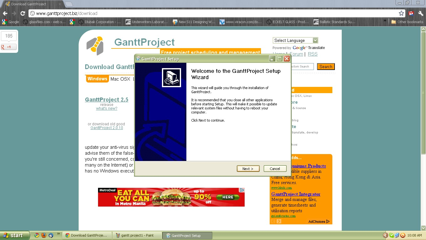 Ganttproject For Your Project Schedules My So Called