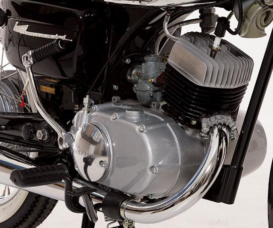 Kawasaki B8 engine