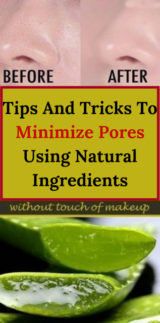 Tips And Tricks To Minimize Pores Using Natural Ingredients
