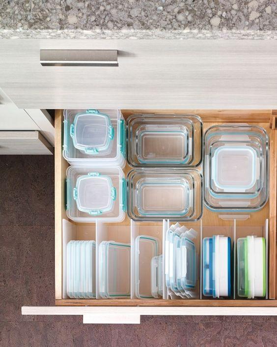 como guardar o ordenar los cacharros en tu cocina con el método konmari de Marie Kondo la magia del orden