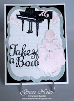 Take a Bow, piano recital card front