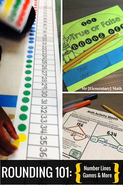 Rounding 101 - Number Lines, Games and More