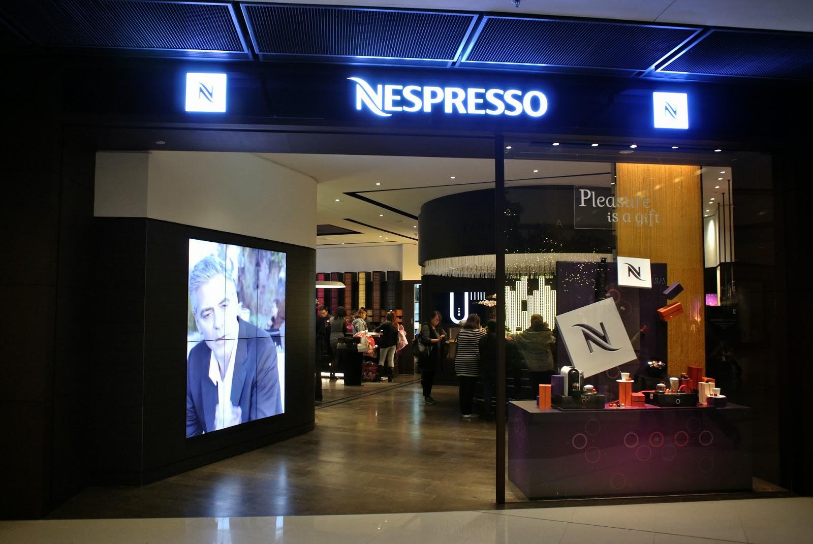 甜魔媽媽新天地: Nespresso 國際金融中心專門店遷入新址 ~ 全新昇華咖啡體驗