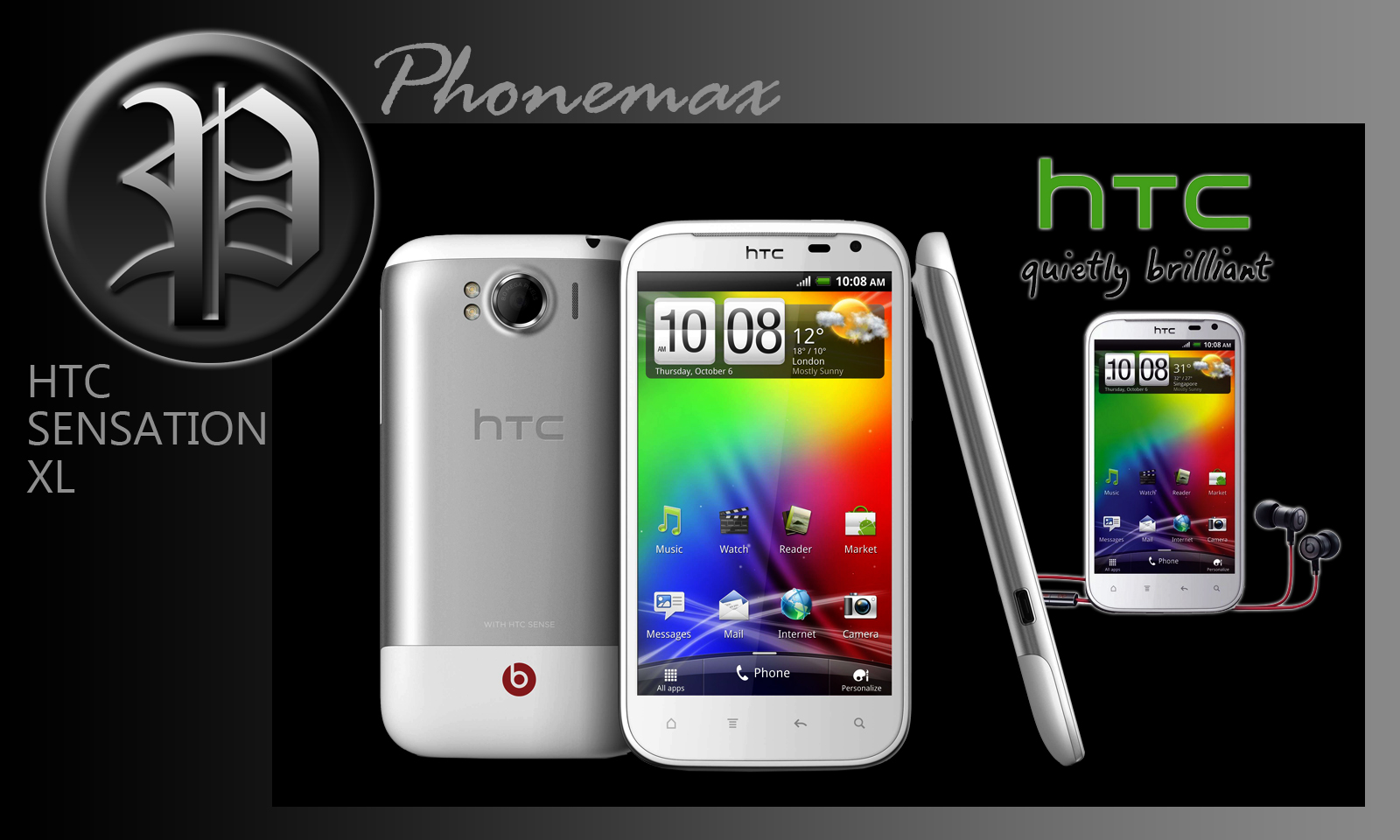 phonemax mobile and accessories htc sensation xl original rm1499. Black Bedroom Furniture Sets. Home Design Ideas