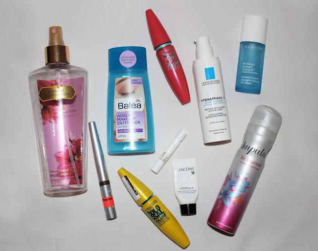 Victoria's Secret, Maybelline, Balea, Lancome, Impulse, Clarins, La Roche Posay
