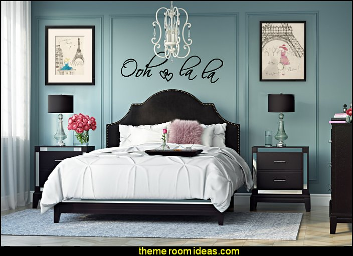 Decorating theme bedrooms - Maries Manor: paris bedroom ...