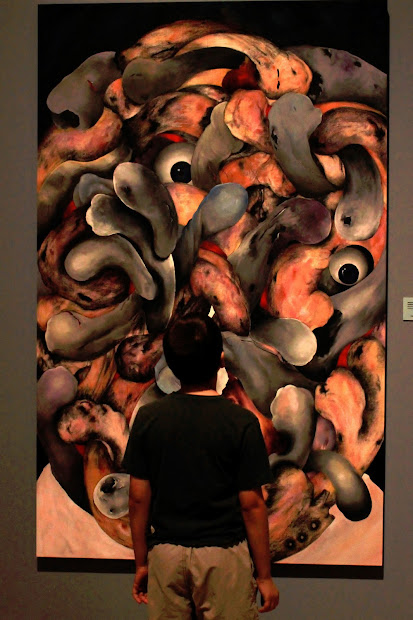 Arizona Writer Experiencing Art T