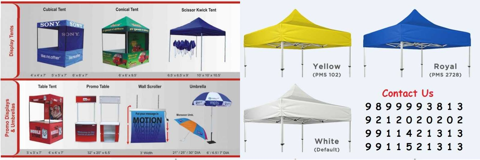 Manufacturers of Marketing Canopy Tents Stalls Kiosk Gazebo Canopies Pagoda Marquees in Delhi Indi  sc 1 th 130 & Manufacturers of Events Tents Canopy Custom Made Canopy Shelter ...