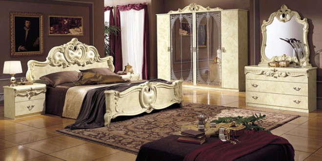 غرف نوم عودي وبيج | ديكور بلس