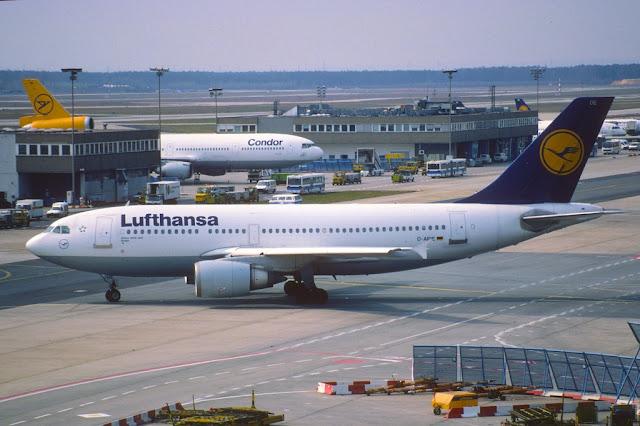 Lufthansa Airbus A310 D-AIDE