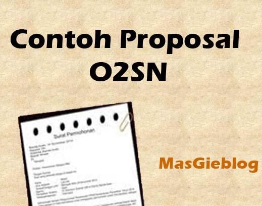 Proposal Olimpiade Olahraga Siswa Nasional O2sn Masgie