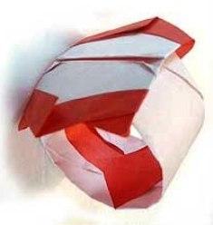 cincin a cara lain membuat dari kertas