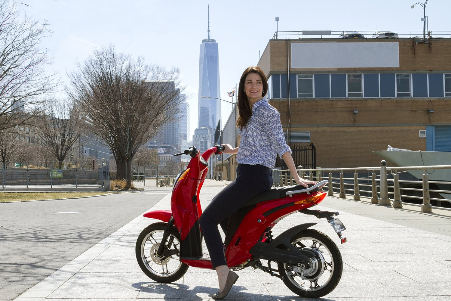 Jetson Lithium Ion Powered Eco Friendly Electric Bike By