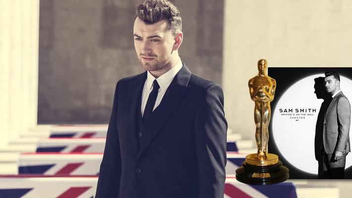 """Esse é o segundo Oscar para uma canção da franquia """"007"""", além de já ter rendido o Globo de Ouro para Sam Smith"""