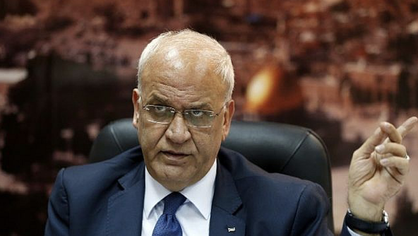 Erekat says US is pushing a Palestinian 'coup,' tells Nikki Haley to 'shut up'