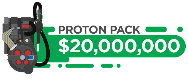 Image: Proton Pack $20,000,000