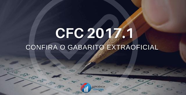 Divulgação Gabarito Extra Oficial Prova 2017.1 CFC (exame de suficiência) Contabilidade