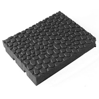 Greatmats pebble top horse stall mat straight edge