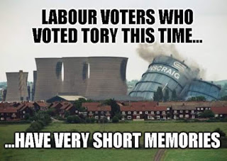 Labour voters who voted Tory this time have very short memories: Ravenscraig