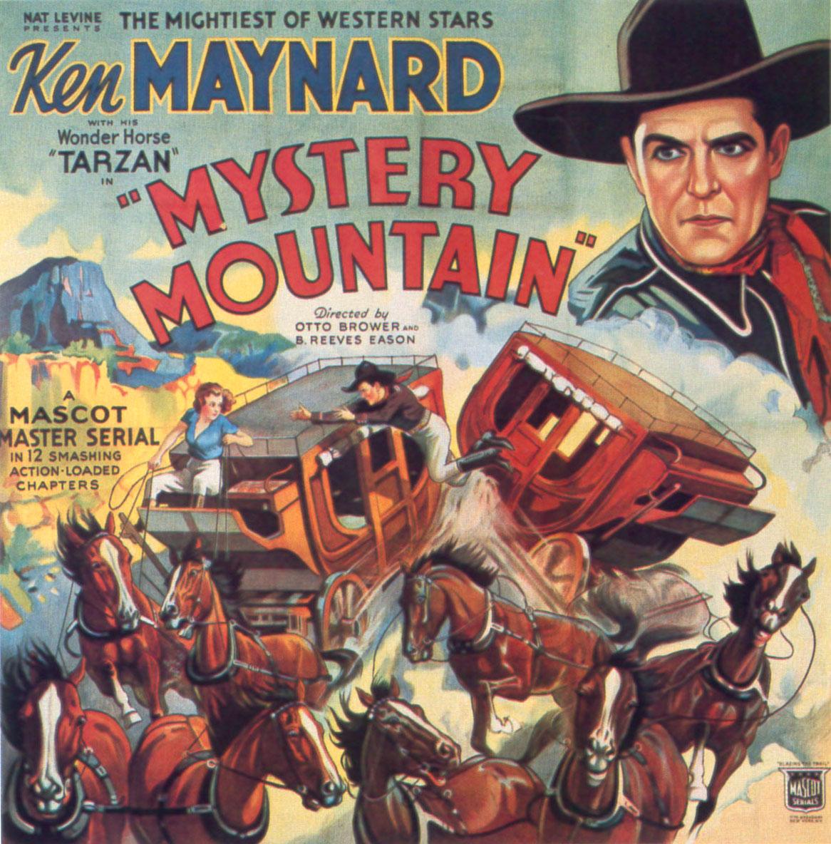 Honor of the range Ken Maynard western movie poster print
