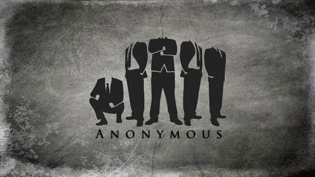 17 Walpaper Hacker Anonymous Hitam Putih Anonymox Crakers