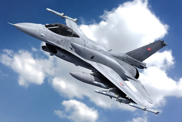 Slovakia selects F-16 over Gripen