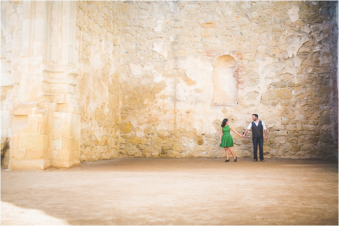 San Juan Capistrano Engagement Session from Theresa Bridget Photography