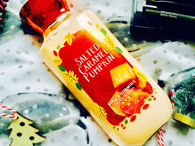Bath & Body Works Salted Caramel Pumpkin Body Lotion