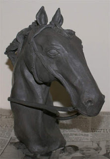clay horse statue, clay sculpture demonstration, clay art tutorial