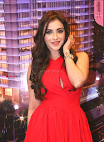 Angela Krislinzki Telugu Actress looks stunning in Red   HD Pics   Exclusive  5.jpg