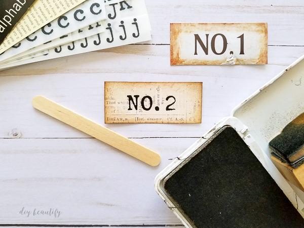 No. 2 label