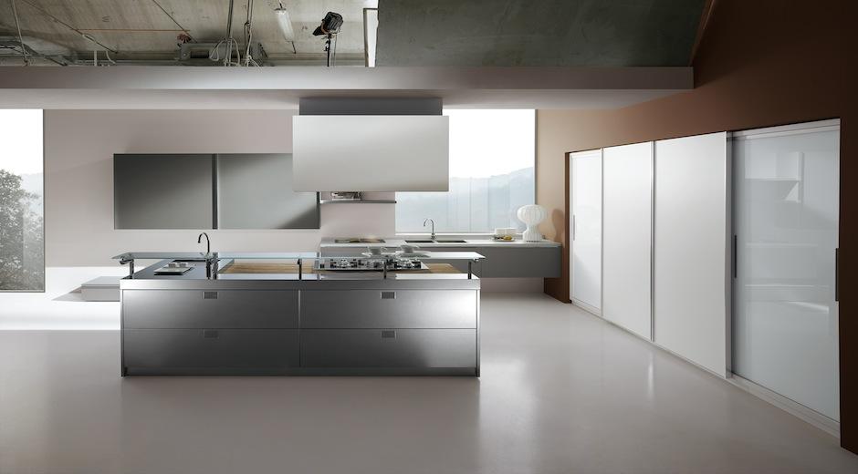 Una combinación perfecta: madera, acero y cristal - Cocinas con estilo